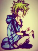 Young Minato by RedwoodKitten