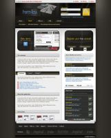 Homepage nameless project by Harm-Less