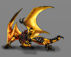 Verden-Short Tailed Wyvern by Scatha-the-Worm
