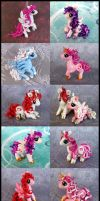 Valentine Ponies 2014 by DragonsAndBeasties