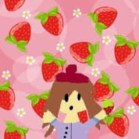 Mia's Strawberrys by HarvestMoonChronicle