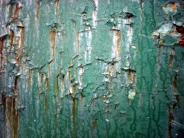 Stock texture - green paint and rust II by rockgem