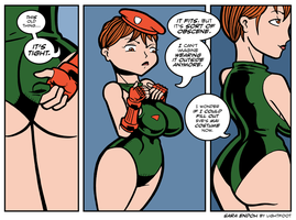 Now More Mai Than Cammy by lightfootcomics