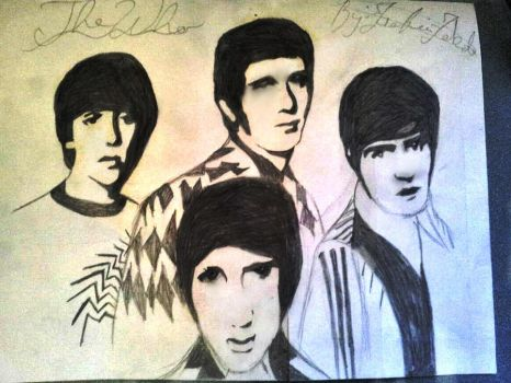 THE WHO PORTRAIT by Foxie11Heart