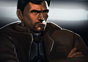 Kyle Katarn from Star Wars: Dark Forces 1995. by ebagg