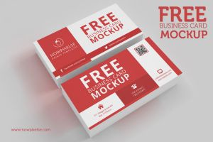 FREE Business Card Mockup 01 by khaledzz9