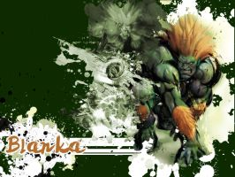 SFIV Alternate Blanka by Vegett0