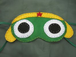 Sergeant Frog Sleep Mask by Rekslare