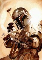 Boba Fett -Galaxy's Deadliest by GabeFarber