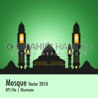 Mosque vector 2010 by adriano-designs