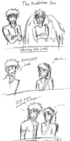 Adventures of Ike and Pit- Messing with Link by Prince-Marusu