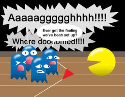 Pacman Funny 29 by Inspectornills