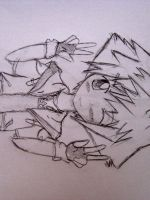 never ever doodle sora by colorfulldrawer