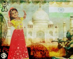 The many faces of India by EveBlackwood