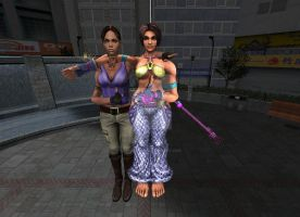 Sheva and Christie by Stylistic86