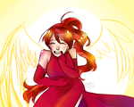 she laughs like an angel by Abominableve