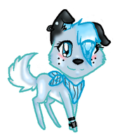 Blue the Collie (Art Slave) by Honey-PawStep