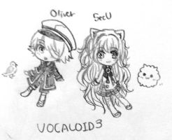 Oliver and SeeU by lellibel