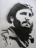 fidel castro by peacefrog420