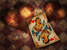 Queen of Hearts by hallbe
