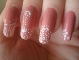 Pattern Nails by OkBear