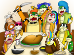 A Koopa Thanksgiving by Cpr-Covet