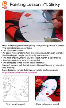 Patreon's Painting Lesson by SybileArt