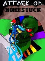 Attack on Homestuck by RobotMagpie