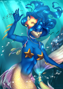 Mermaid Princess by Neyla-The-Lioness