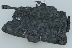 BaneBlade Full Top View by SerpentTheGreen
