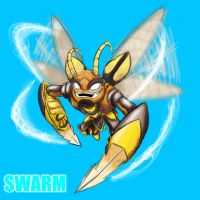 Skylanders Giants - Swarm by DrakorDragon