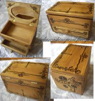 Lotus casket by GreatShinigami