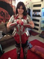 Sif Costume Test by WinterQueene