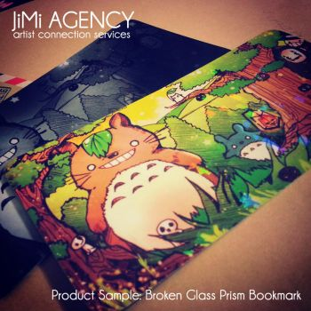 JiMi Product Sample: Prism Bookmarks by jinyjin