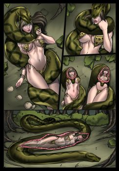 Another day in Snake Jungle (Int.) by swiftbladez