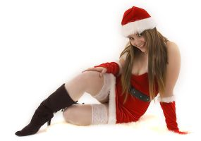 Sexy Santa III by AndrewHoughton