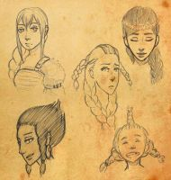 HTTYD Next generation - girls by fUnKyToEs