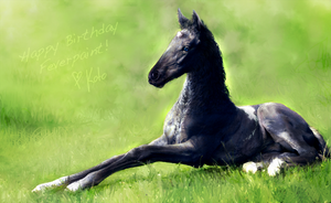 Baby Loki (Happy Bday feverpaint!) by Kotorigaro