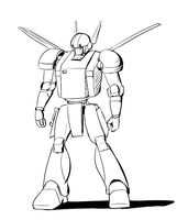 Mecha Concept 1 by wbd