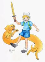 Adventure Time by vanessayotumoto
