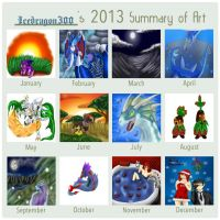 Summary of Art 2013 by Icedragon300
