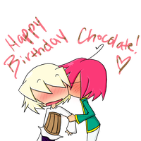 Happy Birthday Choco by minakonumnums