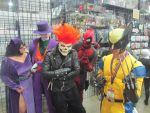 Wolverine (Me) and his peeps, BCC 2013 by SkinnyZach