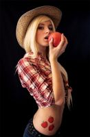 cosplay applejack by Zumio