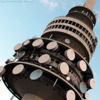 Telstra Tower by Cattereia