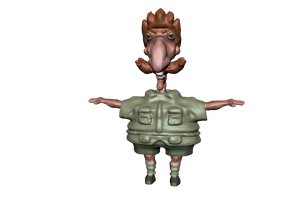 Smashing  3d Nigel by Flowingfanart