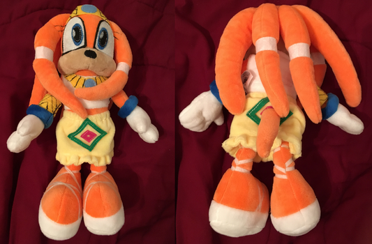 Upgraded Tikal Plush Made By Budsies by Envytheskunk