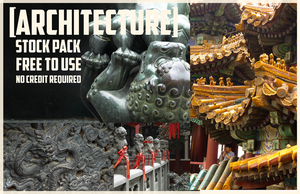 Chinese Architecture: Stock Pack by Blackpassion777