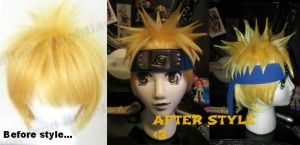 Naruto wig edit by VeraKitty