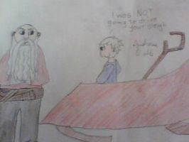 Daily Life of Guardians#7:Jack loves the sleigh by AndressaNerdMuniz